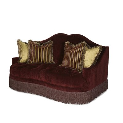Michael Amini ICO3147 Imperial Court Tufted Loveseat