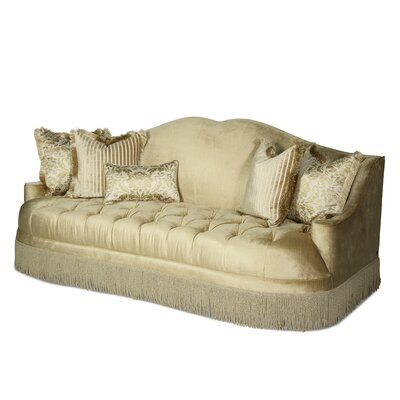 Imperial Court Tufted Sofa by Michael Amini