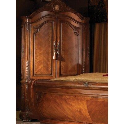 Michael Amini Cortina Sleigh Customizable Bedroom Set