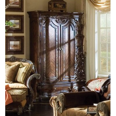 Essex Manor Armoire in Deep English Tea Product Photo