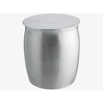 Hammered Aluminium Stool/Side Table by Fashion N You
