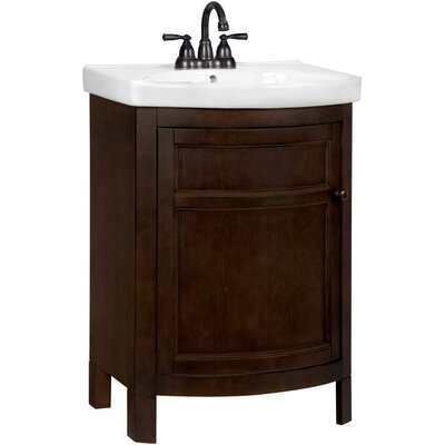 "Tuscan 24"" Single Bathroom Vanity Set Product Photo"