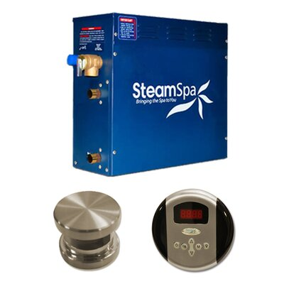 Steam Spa SteamSpa Oasis 9 KW QuickStart Steam Bath Generator Package