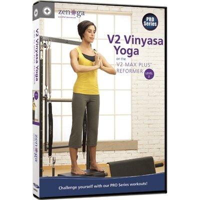 MERRITHEW V2 Vinyasa Yoga on the V2 Max Plus Reformer Level 2 DVD