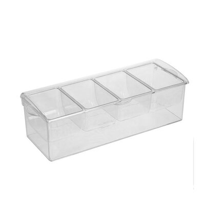 Sorbus Condiment Tray with Ice Chamber by GGI International
