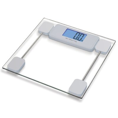 Sivan Health and Fitness Extra Large LCD Digital Glass Screen for Bathroom Scale