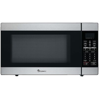 1.8 Cu. Ft. 1100W Countertop Microwave in Stainless Steel Product Photo