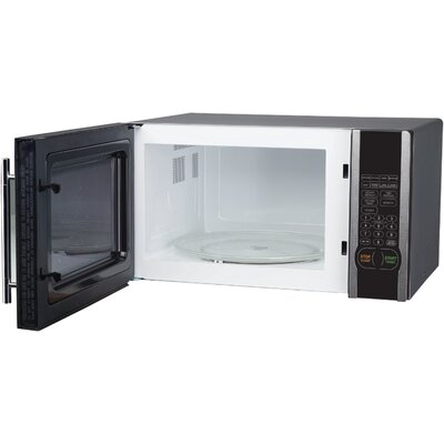 1.1 Cu. Ft. 1000W Countertop Microwave in Stainless Steel Product Photo