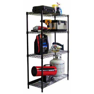 "Trinity NSF Indoor Wire 54"" H 3 Shelf Shelving Unit Starter"