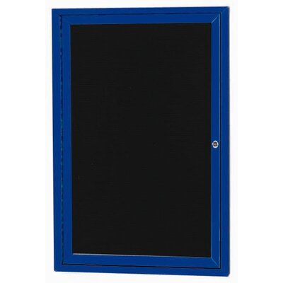AARCO Outdoor Directory Cabinet Enclosed Wall Mounted Letter Board