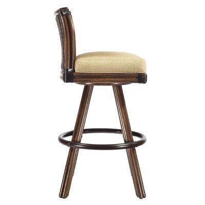 "Selamat Lucca 30"" Swivel Bar Stool with Cushion"