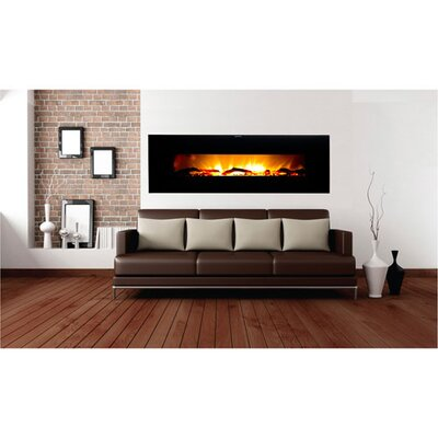 Warm House Valencia Extra Wide Wall Mounted Electric Fireplace