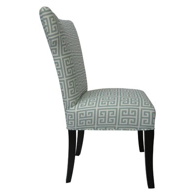 Sole Designs Melrose Chain Wingback Cotton Slipper Chair