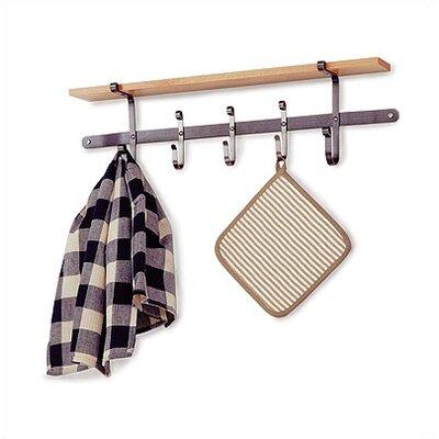 Premier Apron Towel Wall Mounted Pot Rack by Enclume