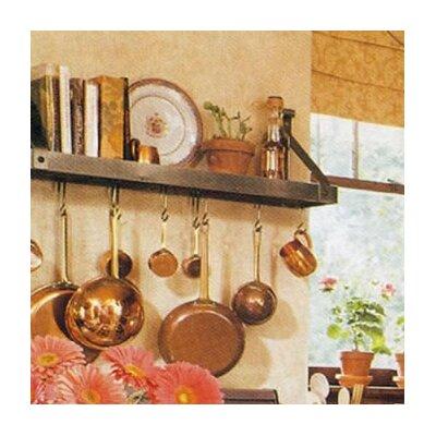 Bookshelf Pot Rack by Enclume
