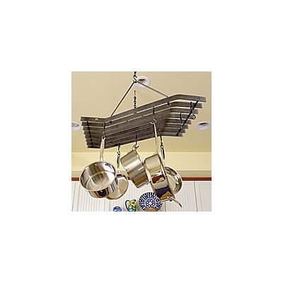 Decor Z Hanging Pot Rack by Enclume