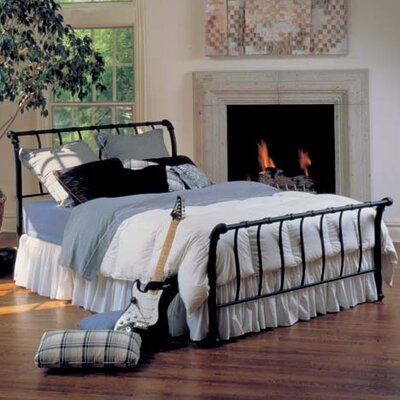 Janis Sleigh Bed by Hillsdale
