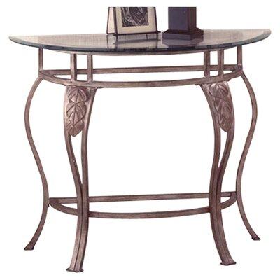Bordeaux Console Table by Hillsdale