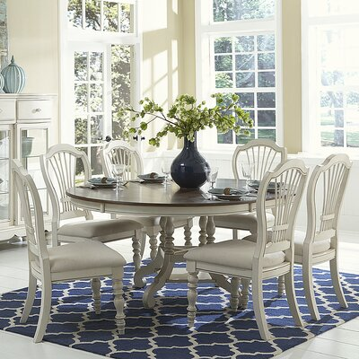 Pine Island Extendable Dining Table by Hillsdale