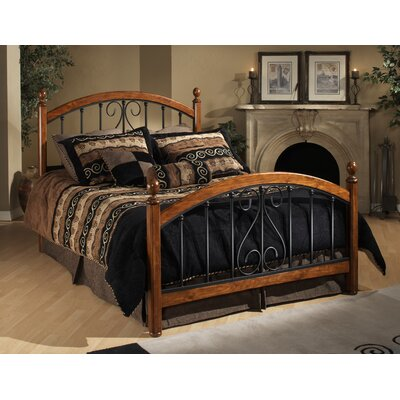 Burton Way Metal Panel Bed by Hillsdale