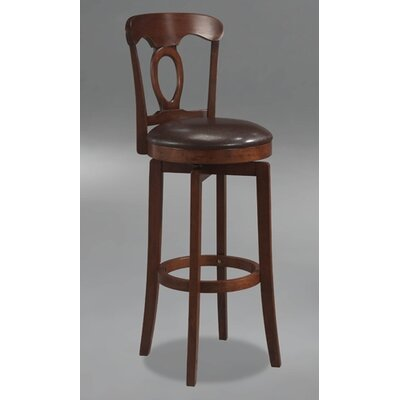 "Hillsdale Furniture Corsica 25"" Swivel Bar Stool with Cushion"