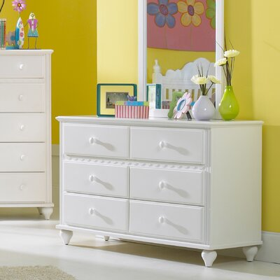 Hillsdale Furniture Lauren 6-Drawer Dresser