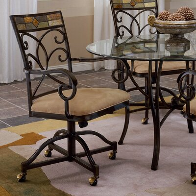 Hillsdale Furniture Pompei Arm Chairs