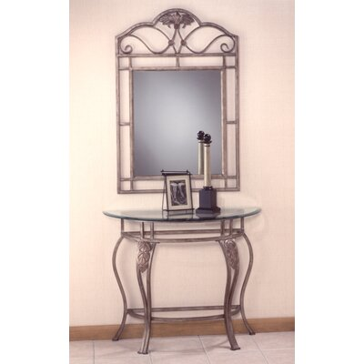 Hillsdale Furniture Bordeaux Console Table with Mirror