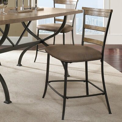 "Hillsdale Furniture Charlestown Charleston 26"" Bar Stool with Cushion"