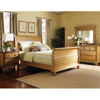 Hamptons Sleigh 5 Piece Bedroom Set by Hillsdale