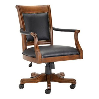 Kingston Leather Arm Chair by Hillsdale