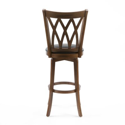 Hillsdale Mansfield 30 Quot Swivel Bar Stool With Cushion