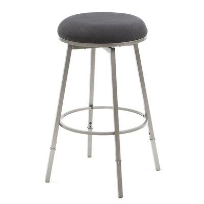 Hillsdale Furniture Sanders Adjustable Height Swivel Bar Stool with Cushion