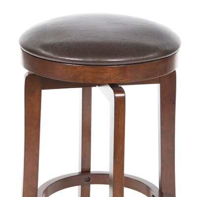 "Hillsdale Furniture Malone 25"" Swivel Bar Stool with Cushion"