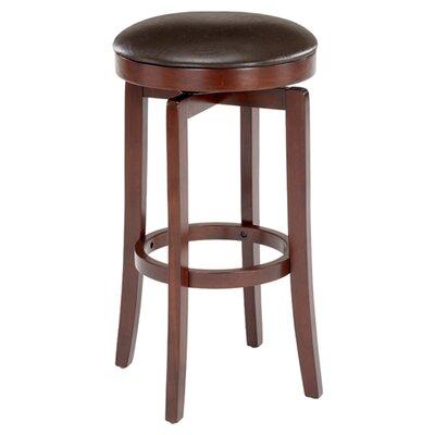 "Hillsdale Furniture Malone 31"" Swivel Bar Stool with Cushion"