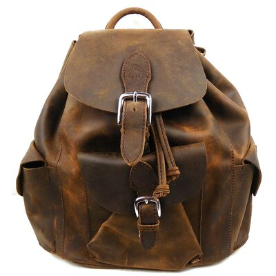 Leather Backpack by Vagabond Traveler