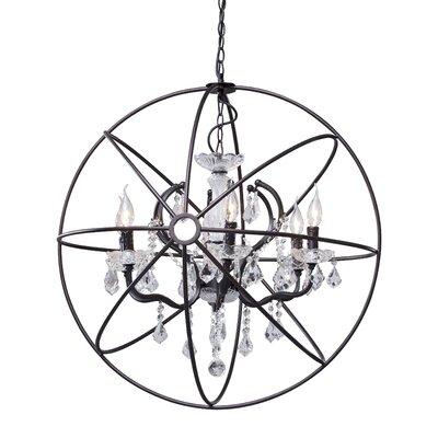 Diamond 6 Light Ceiling Lamp by Zuo Era
