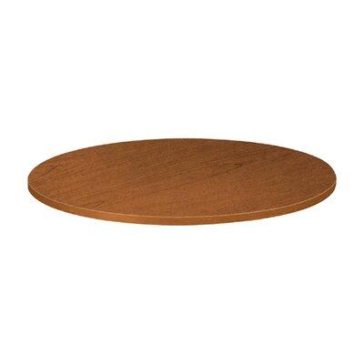 "Basyx by HON Round Tabletop, 48""Diameter, Bourbon Cherry"