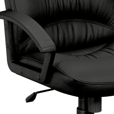 Basyx by HON Leather Executive Chair with Loop Arms