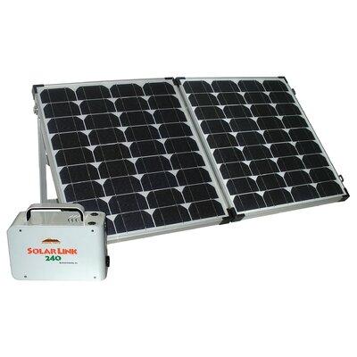 Sierra Wave Solar Link 240 Power Center with Solar Collector Set