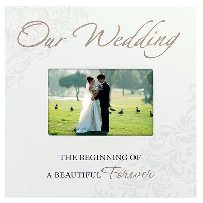 Our Wedding Storyboard Picture Frame by Malden