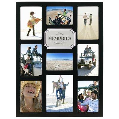 Malden Memories 9-Opening Plaque Picture Frame