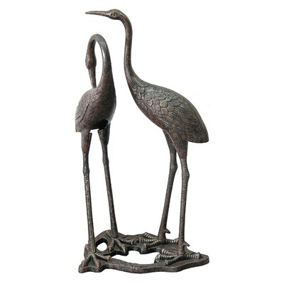 Heron Statue by Innova Hearth and Home