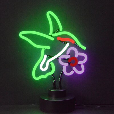 Neonetics Business Signs Humming Bird Neon Sign