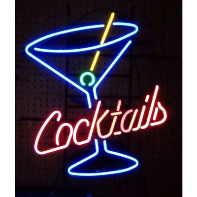 Neonetics Business Signs Cocktails and Martini Neon Sign