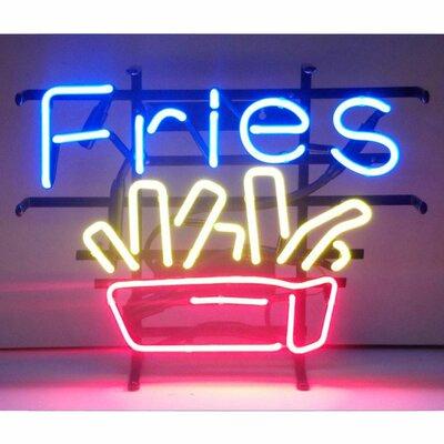 Neonetics Fries Neon Sign