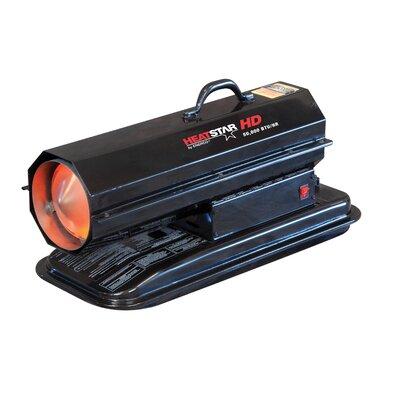 Heatstar Indirect Fired 50,000 BTU Portable Kerosene Forced Air Utility Heater