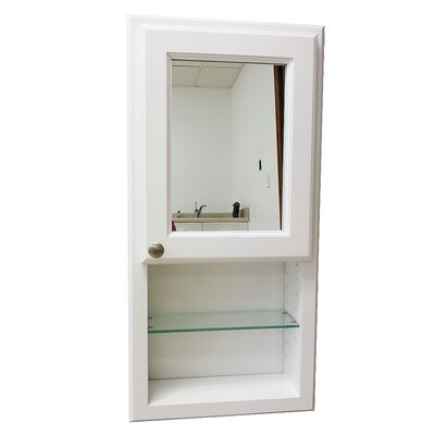"York Series 15.5"" x 37.5"" Recessed Medicine Cabinet Product Photo"