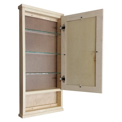 """WG Wood Products Shaker Series 15"""" x 31.5"""" Wall Mounted Cabinet"""