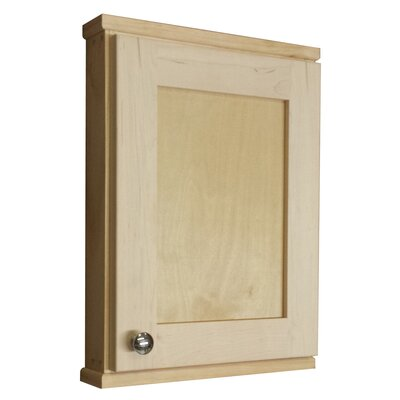 """WG Wood Products Shaker Series 15"""" x 19.5"""" Wall Mounted Cabinet"""